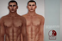 Cesare (SLINK, 4 Skins Tones, Facial Hair, Hairbase) | Flickr - Photo Sharing!