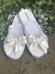 Excited to share this item from my shop: Wedding flip flop Be My Bridesmaid, Bridesmaids, Wedding Flip Flops, Organza Gift Bags, Special Day, Best Gifts, Baby Shoes, Tissue Paper, Kids