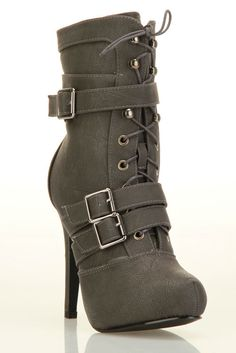 more belted boots. I just can't stay away