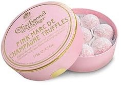 Pink truffles