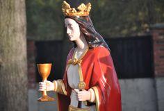Bytom Miechowice przy kościele św.Krzyża.