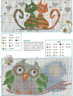 Cross-stitch Cute Baby Bib Patterns <3