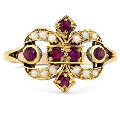 14K Yellow Gold The Rowena Ring from Brilliant Earth