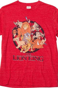 Lion King Circle of Life T-Shirt The classic film, Lion King, is art in action.  Skillfully designed and illustrated, it is popular for everyone.  Great for kids and parents to enjoy the humor and love together.