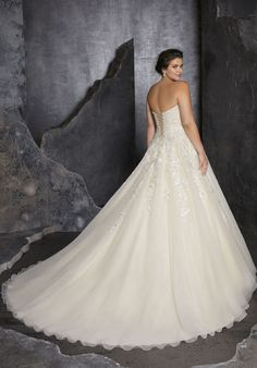 Plus Size Wedding Dresses: Julietta Collection | Morilee - Part 3 Lace Wedding Dress, Princess Wedding Dresses, Perfect Wedding Dress, Bridal Wedding Dresses, Wedding Dress Styles, Designer Wedding Dresses, Princess Bridal, Princess Style, Chic Wedding