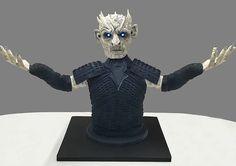 Cakes:  Game of Thrones, White Walker cake.  The Cake Lab Bakery, Ranelagh, Dublin, Ireland. Artisan Baking Studio.
