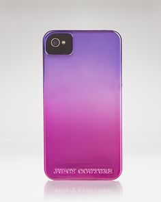 Juicy Couture iPhone Case - Ombre Pink Purple