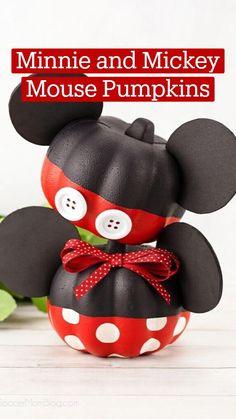 Halloween Food Crafts, Halloween Decorations For Kids, Disney Halloween, Halloween Kids, Halloween Themes, Fall Crafts, Holiday Crafts, Disney Diy, Disney Crafts