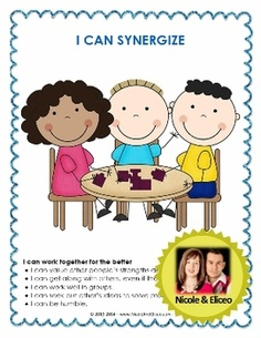 """FREEBIE posters to compliment Sean Covey's """"7 Habits of Healthy Kids"""" and """"The Leader in Me"""" curriculum. :)"""