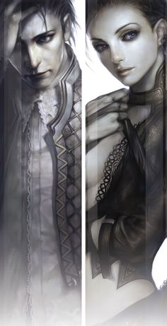 Summoner Portraits - ZerA Imperan game art