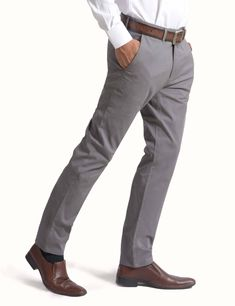 MEN'S STRETCH SLIM FIT CHINO PANTS – FLAT FRONT  118-6877-010405-36-04- #olgyn #malefashion #mesnoutfits #mensstyle #mensfashion #fashionformen #summer2018 #summerfashion #usa #chino #chinopants #menswear Grey Chinos Men, Mens Chino Pants, Denim Pants, Men's Chinos, Steampunk Men, Denim Outfit, Dress With Boots, Guys And Girls, Men Casual