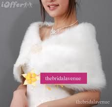 fur wedding bolero - Google Search