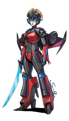 Revolution #5 - Windblade Profile Picture By Sara Pitre-Durocher