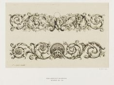 Art Nouveau Illustration, Ornament Drawing, Flower Ornaments, National Art, Vintage Designs, Floral Designs, Acanthus, Victoria And Albert Museum, Floral Illustrations