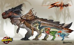View an image titled 'Saurians Art' in our Borderlands 3 art gallery featuring official character designs, concept art, and promo pictures. Borderlands Series, Borderlands Art, Creature Concept Art, Creature Design, Creature Feature, Fantasy Creatures, Mythical Creatures, Mythological Creatures, Art Articles