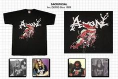 DEICIDE - AMON 1989 Original Demo Artwork!!! Super RARE!! SIZE LARGE | eBay