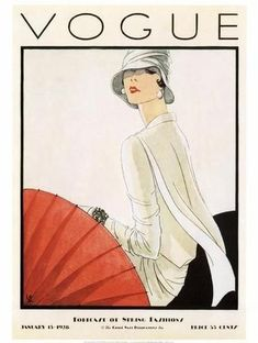 January 1928 - You'll Love These Illustrated Vintage 'Vogue' Covers - Photos