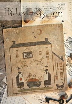cross stitch patterns  HallowDay Inn Country by thecottageneedle, $10.00 by Brenda Gervais on Etsy