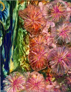 Heather Hennick | Karen | encaustic, pigment on paper