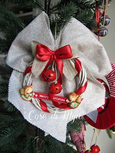 Decorazioni handmade Natalizi, by COSE DI MYA, 20,00 € su misshobby.com