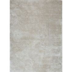 Bogata Light Gray Solid Area Rug | Wayfair