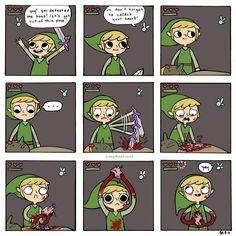 Link, NO!