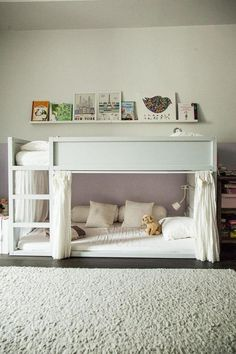 Some nice ideas to decorate a kids room with ikea kura beds. Discover bedroom ideas and design inspiration from a variety of bedrooms consisting of color decor and also style ikea kura bed is a great loft bed it is . Kura Ikea, Kura Bed Hack, Ikea Loft Bed Hack, Ikea Stuva, Bunk Beds With Stairs, Kids Bunk Beds, Low Loft Beds For Kids, Ikea Kids Bed, Kids Bedroom Ideas