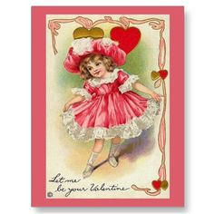 vintage valentine postcards | Tales from the Coop Keeper: I Got a Can, and I Got a Plan