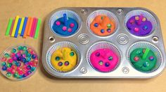 Playdough Cupcakes Fine Motor and Sensory Activity Preschool Activity Preschool Birthday, Preschool Food, Birthday Activities, Preschool Themes, Preschool Education, Preschool Plans, Classroom Birthday, Preschool Centers, Fall Preschool