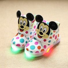 c10421b0ac5d Hot SALE Children Shoes With Light Popular in Europe Boys Shoes Autumn  Winter Girls Cartoon Sneakers Kids Led Sport Shoes