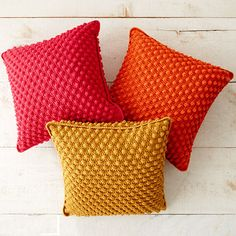 Crochet For Children: Bobble-licious Pillows - Free Pattern