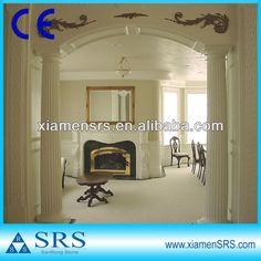 Roman pilar de mármore branco casa decorativo-imagem-Colunas-ID do produto:909922556-portuguese.alibaba.com