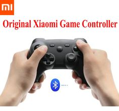 100% Original Xiaomi Mi Wireless Bluetooth Game Handle Controller Remote GamePad For Smart TV PC Game Controller Free Shipping - shop online100% Original Xiaomi Mi Wireless Bluetooth Game Handle Controller Remote GamePad For Smart TV PC Game Controller Features: Dual-motor vibration,Three-axis gravity sensor. Curved arc design ensures that it is very comfortable to hold it in the hand. High precision arrow keys let you enjoy the gaming experience to its fullest. 360 degrees m
