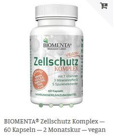 Erhältlich im onlineshop von biomenta.de mit 15% Cashback für KGS Partner Vegan, Vegans