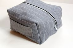 gift for guys guest tutorial- boxy dopp kit by the cottage mama