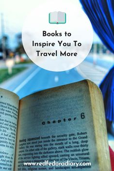 Looking for something new to read? Check out my list of 14 travel books to inspire and fuel your wanderlust via @redfedoradiary