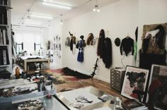 522124_454815787917670_1342598840_n Art Studio Room, Mixed Media Artists, Wardrobe Rack, Furniture, Home Decor, Studios, Lifestyle, Google, Image