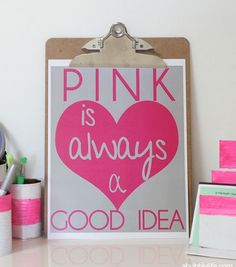 Pink Is Always A Good Idea Free Printable Are You Pinkalicious Do Have Little Y In Your Family Michele Servidio I Love