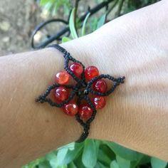 Tiny tiny #glassbeads & #redagate 🌼🌼🌼🌼🌼🌼🌼🌼🌼🌼🌼🌼 Tiny Tiny, Red Agate, Glass Beads, Handmade Jewelry, Beaded Bracelets, Instagram, Handmade Jewellery, Pearl Bracelets, Jewellery Making