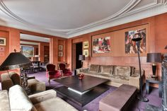 Gorgeous chic 2-bedroom apartment for sale in the 8th arrondissement of Paris at Avenue George V. It is a comfortable spacious flat in a nice quarter of the French capital - a great option as for personal residence with your family as for investment in real estate in one of most beautiful cities of Europe. https://www.glamourapartments.com/real-estate/for-sale/george-v