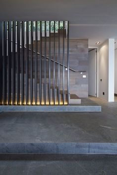 Harker Street House by Greg Wright Architects Stairs Modern Stair Railing, Modern Stairs, Modern Room, Modern Decor, Staircase Design Modern, House Staircase, Staircases, Staircase Walls, Escalier Design