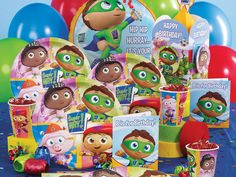 Super Why Birthday Party Pack
