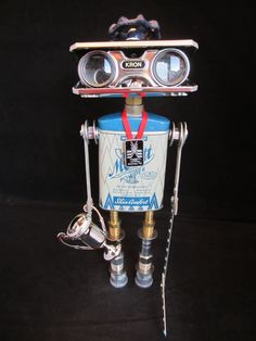 Hey, I found this really awesome Etsy listing at https://www.etsy.com/listing/264913917/mvp-bot-found-object-robot-sculpture