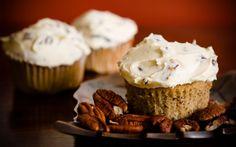 Bake Sale: Maple Pecan Cupcakes on PaulaDeen.com