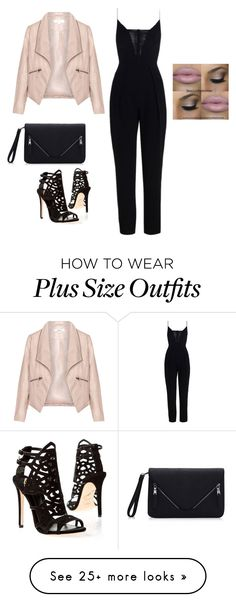"""""""Baby pink"""" by princesaurbana on Polyvore featuring mode, Zimmermann, Zizzi en Brian Atwood"""