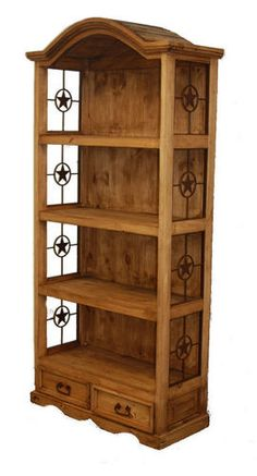 Would be cute in Halston's room painted a different color...bookcase