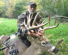 Bowhunters Set Record During Deer Hunt with Big Buck Harvest on http://www.deeranddeerhunting.com
