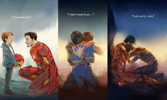 """""""We won, Mr. Stark. We won and you did it, sir. You did it."""" (credit: silverink58) post_tags]"""