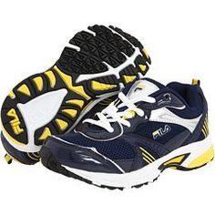 Fila Little Kid/Big Kid Launcher Running Sneaker,Peacoat/Metallic Silver/Lemon,12 M US Little Kid Fila. Save 33 Off!. $29.95