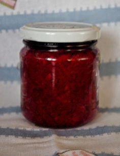 Savanyított gyömbéres cékla vörös káposztával